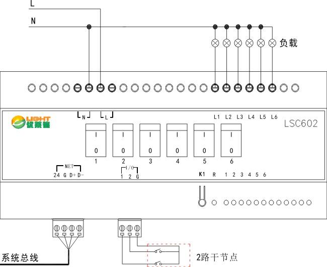 (10)可控硅调光模块6×2a - 优莱德智能照明|智能灯控